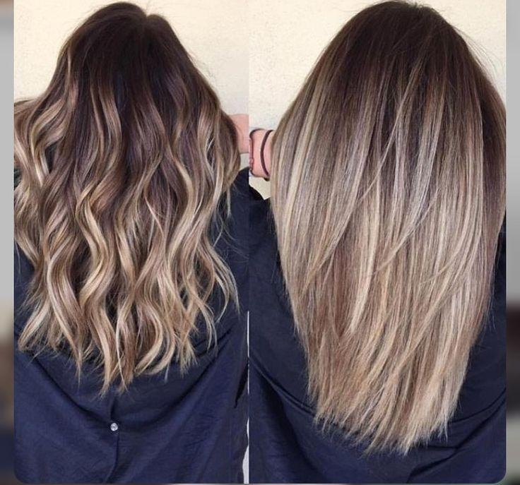 Best 25+ Balayage Hairstyle Ideas On Pinterest | Natural Brown Within Long Hairstyles Balayage (View 3 of 15)