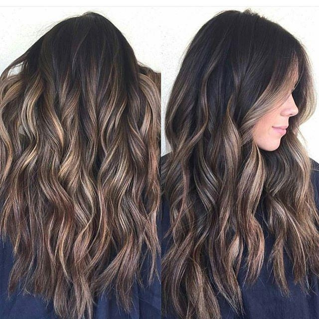 Best 25+ Balayage Long Hair Ideas On Pinterest | Baylage Brunette Inside Long Hairstyles Balayage (View 2 of 15)