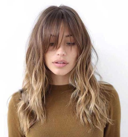 Best 25+ Bangs Long Hairstyles Ideas On Pinterest | Bangs Long Regarding Long Hairstyles Long Bangs (View 13 of 15)