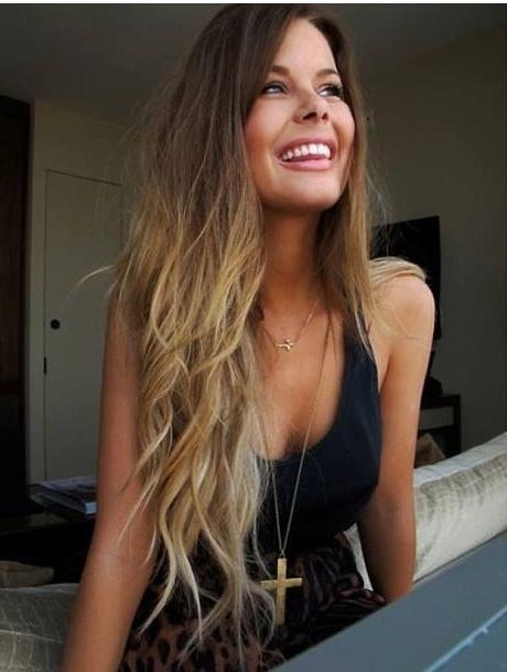 Featured Photo of Long Hairstyles Dip Dye