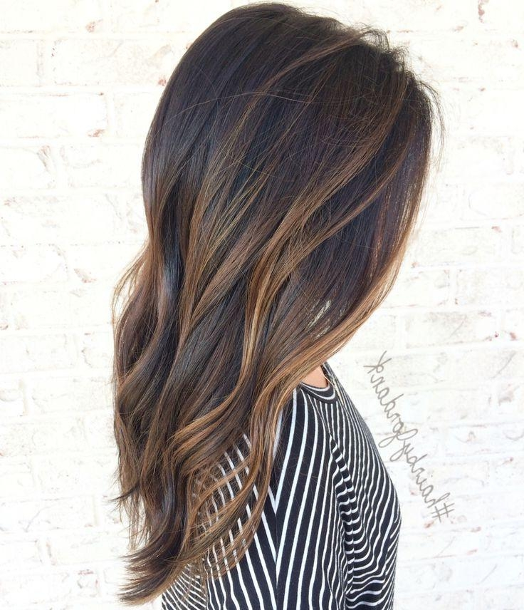 Best 25+ Brown Hair Balayage Ideas On Pinterest | Dark Hair Regarding Long Hairstyles Balayage (View 15 of 15)