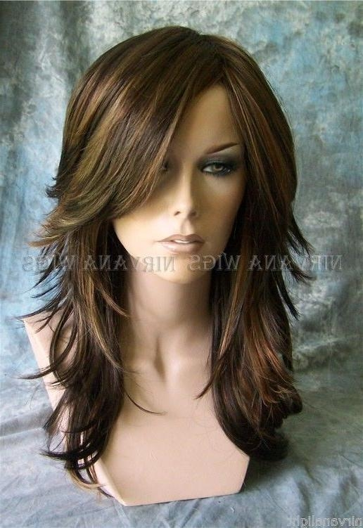 Best 25+ Brown Layered Hair Ideas Only On Pinterest | Long For Long Hairstyles Brown With Highlights (View 14 of 15)