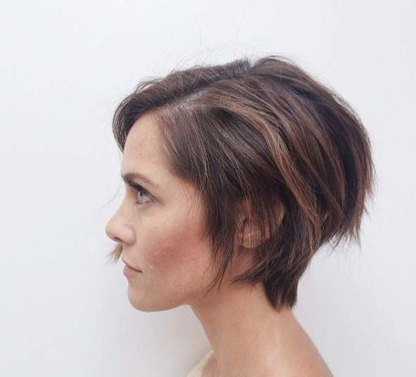 Best 25+ Brunette Pixie Ideas On Pinterest | Brunette Pixie Cut In Long Elfin Hairstyles (View 8 of 15)