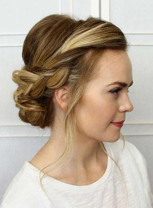 Best 25+ Casual Updo Hairstyles Ideas On Pinterest | Easy Casual Intended For Long Hairstyles Updos Casual (View 4 of 15)