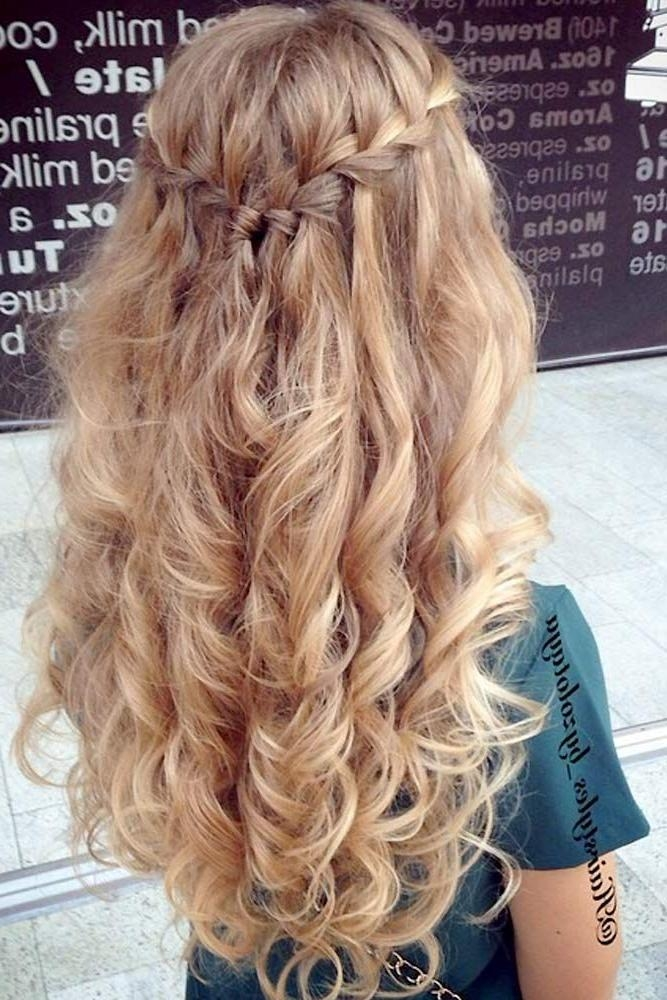 Best 25+ Curly Prom Hairstyles Ideas On Pinterest | Curly Prom Inside Long Hairstyles Prom (View 11 of 15)