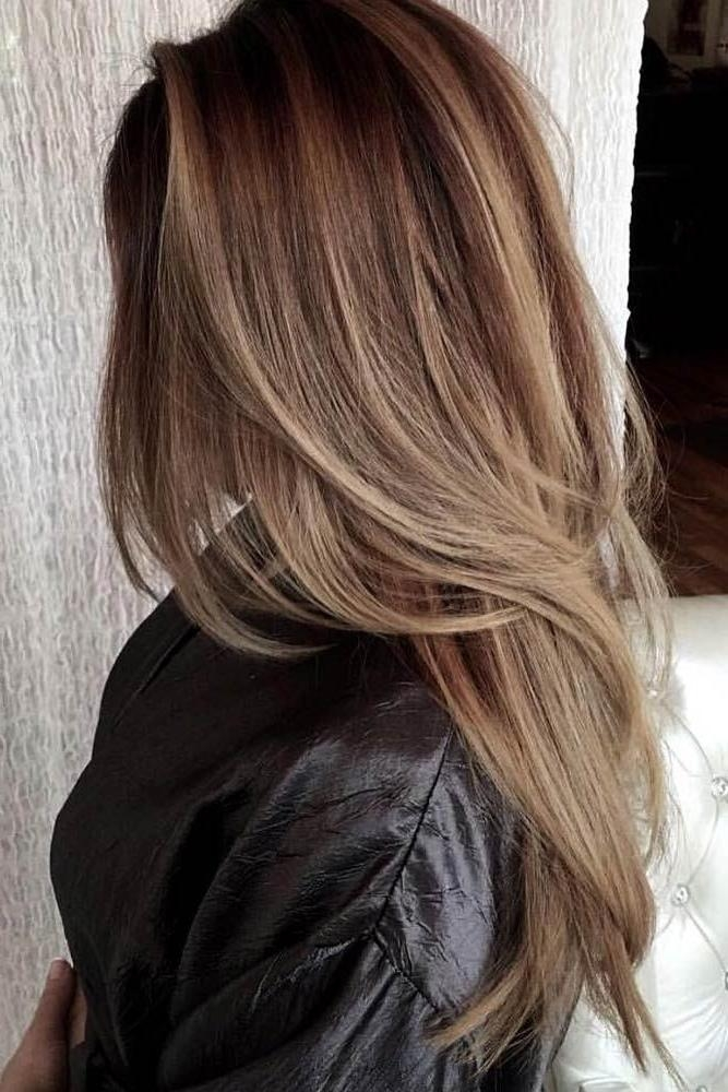 Best 25+ Cuts For Long Hair Ideas On Pinterest | Layers For Long Within Long Hair Colors And Cuts (View 5 of 15)