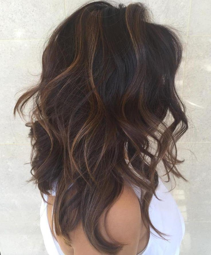 Best 25+ Dark Hair Ideas Only On Pinterest | Hair Color Dark, Dark Regarding Long Hair Colors And Cuts (Gallery 11 of 15)