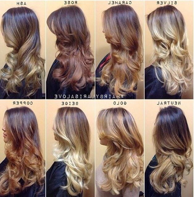 Best 25+ Different Hair Colors Ideas On Pinterest | Galaxy Hair With Long Hair Colors And Cuts (View 7 of 15)