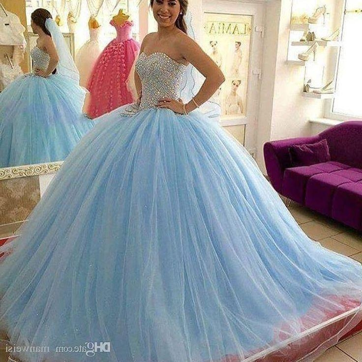 Best 25+ Dresses For Quinceanera Ideas On Pinterest | 15 Dresses With Long Quinceanera Hairstyles (View 6 of 15)