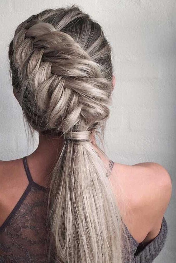 Best 25+ Easy Braided Hairstyles Ideas On Pinterest | Hair Styles With Regard To Cute Braiding Hairstyles For Long Hair (View 8 of 15)