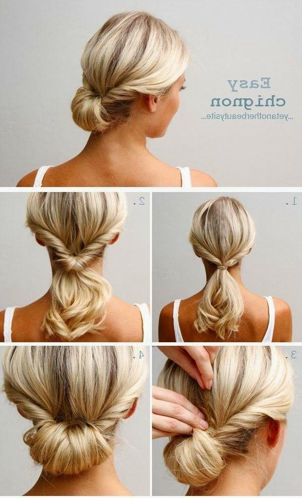 Best 25+ Easy Casual Hairstyles Ideas On Pinterest | Easy Casual Pertaining To Long Hairstyles Updos Casual (View 5 of 15)