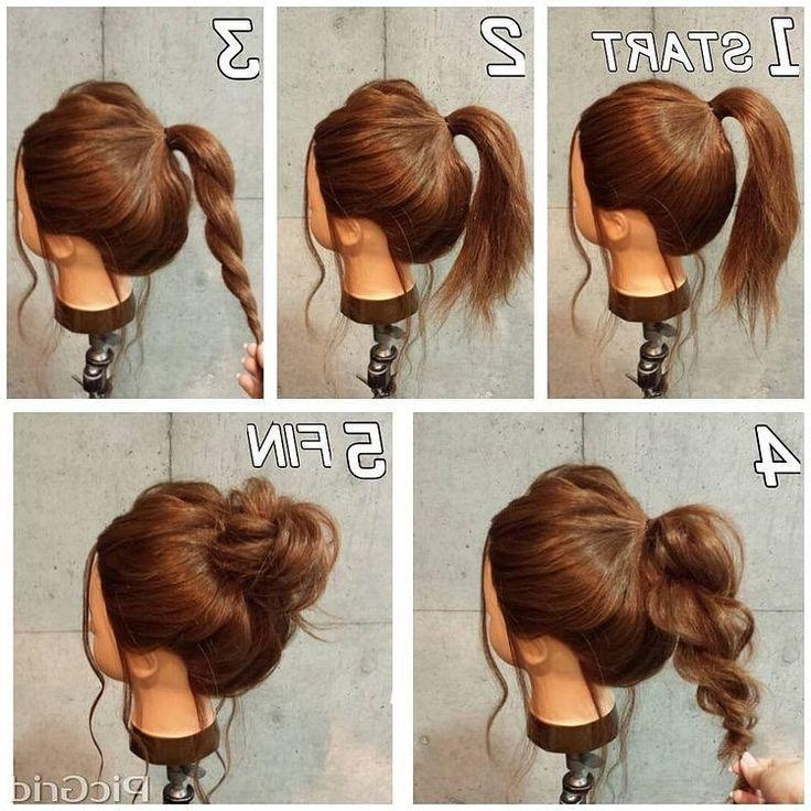 Latest Casual Updos Long Thick Hair