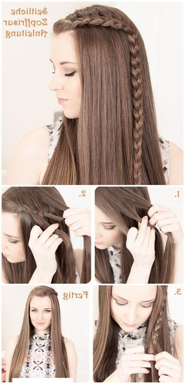 Best 25+ Easy Hairstyles Tutorials Ideas On Pinterest | Easy Updo Throughout Long Hairstyles Easy And Quick (View 3 of 15)
