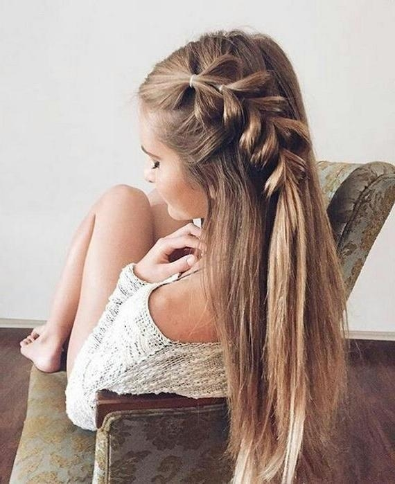Best 25+ Easy Summer Hairstyles Ideas On Pinterest | Summer Braids Throughout Long Easy Hairstyles Summer (View 12 of 15)