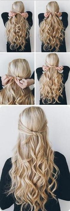 Best 25+ Easy Summer Hairstyles Ideas On Pinterest | Summer Braids With Long Easy Hairstyles Summer (View 13 of 15)