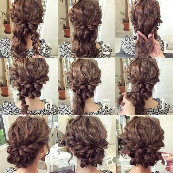 Best 25+ Easy Updo Ideas On Pinterest | Easy Chignon, Simple Updo For Long Hairstyles Easy And Quick (View 5 of 15)