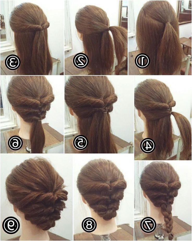 Photo Gallery of Long Hairstyles Easy Updos (Viewing 12 of 15 Photos)