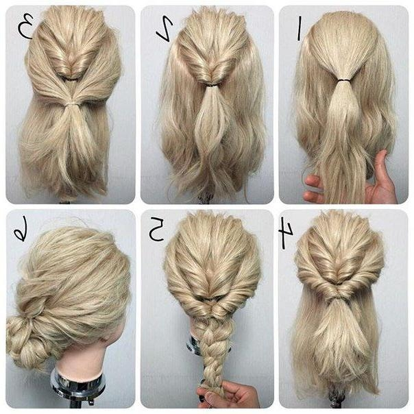 15 ideas of long hairstyles easy updos best 25 easy updo ideas on pinterest easy chignon simple updo pertaining to pmusecretfo Gallery