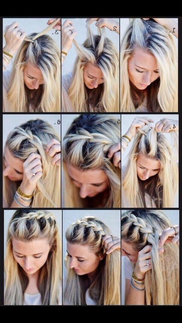 Best 25+ Fast Easy Hairstyles Ideas On Pinterest | Fast Hairstyles Intended For Long Hairstyles Easy And Quick (View 6 of 15)