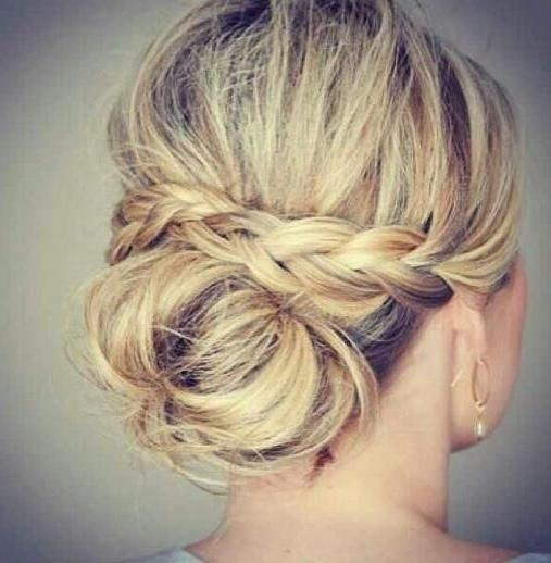 Wedding Hairstyles For Thin Hair: 15 Photo Of Wedding Updos For Long Thin Hair