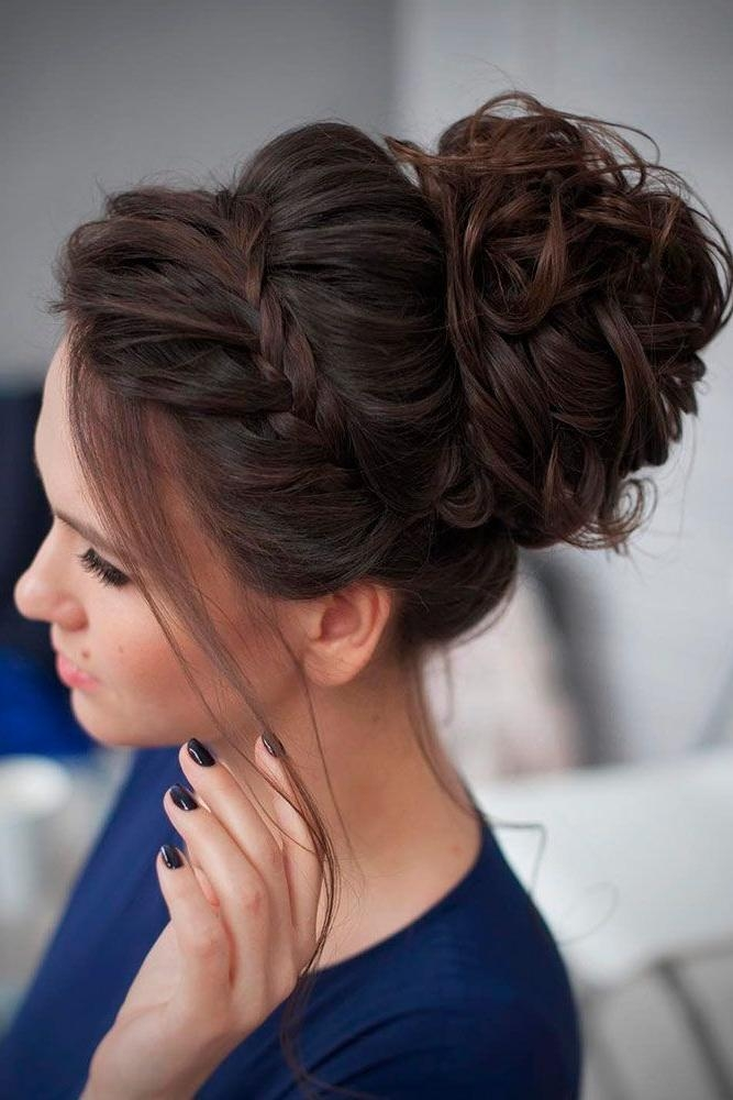 Best 25+ Formal Hairstyles Ideas On Pinterest | Formal Hair, Updos With Regard To Long Hairstyles Evening (View 10 of 15)