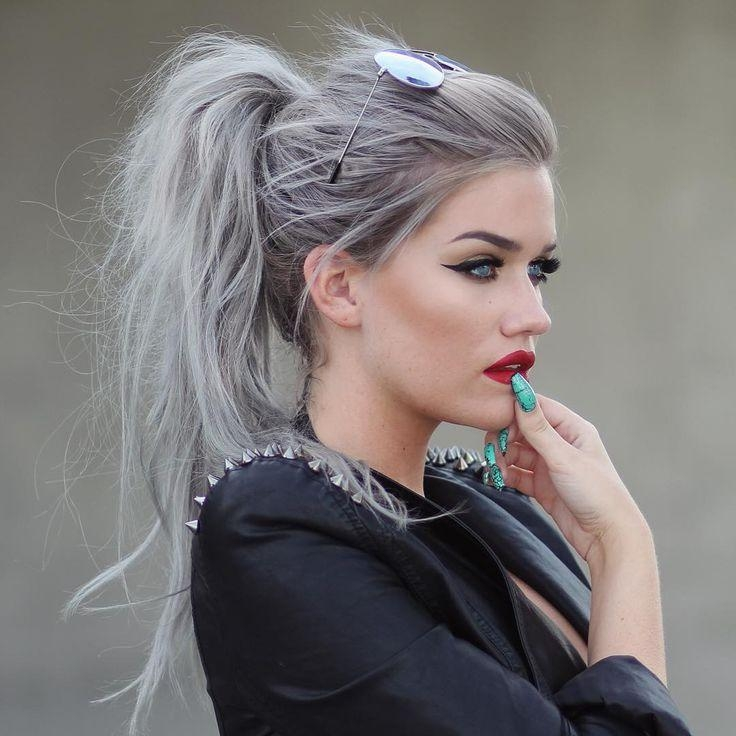gray hair styles photos photo gallery of hairstyles grey hair viewing 9 of 4393