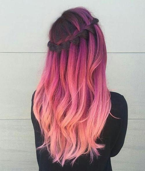 Best 25+ Hair Colors Ideas On Pinterest | Spring Hair Colors, Hair Regarding Long Hairstyles Dyed (View 6 of 15)