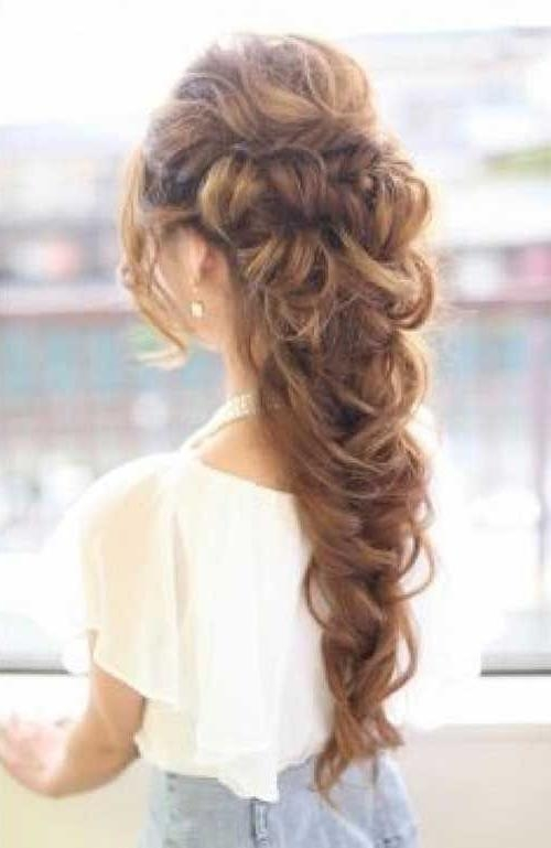 Best 25+ Hair Updos For Prom Ideas That You Will Like On Pinterest For Long Hairstyles Put Hair Up (View 10 of 15)