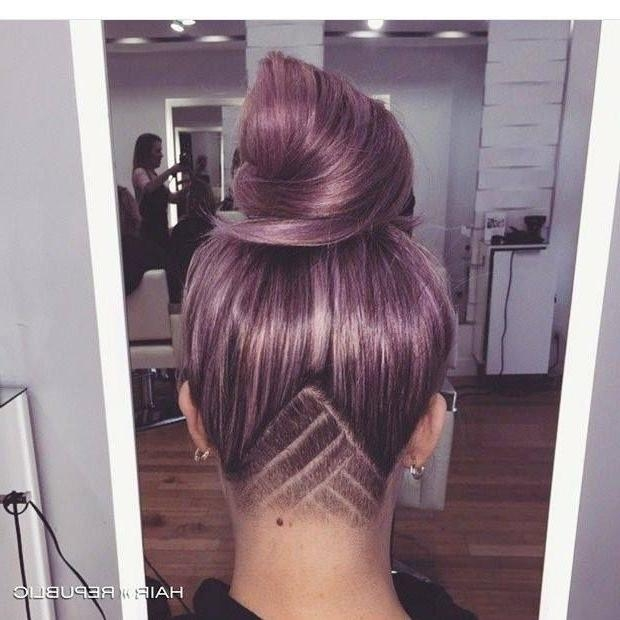 Best 25+ Half Shaved Hair Ideas On Pinterest | Shaved Side Regarding Long Hairstyles Shaved Underneath (View 3 of 15)