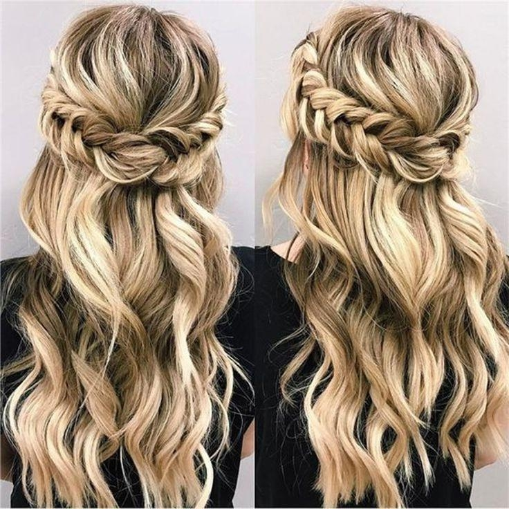 Best 25+ Half Up Half Down Ideas On Pinterest | Half Up Half Down Throughout Long Hairstyles Half Up Half Down (View 10 of 15)