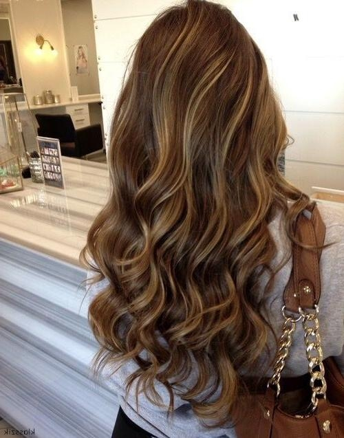 Best 25+ Highlights Ideas On Pinterest | Brunette Highlights Throughout Highlights For Long Hair (View 8 of 15)