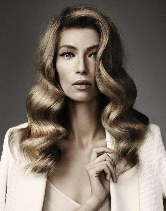 Best 25+ Hollywood Waves Ideas On Pinterest | Hollywood Glam Hair Within Long Hairstyles Retro (View 3 of 15)