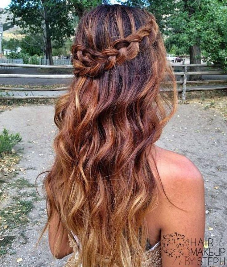 Best 25+ Homecoming Hairstyles Down Ideas Only On Pinterest Within Long Hairstyles Down For Prom (View 6 of 15)