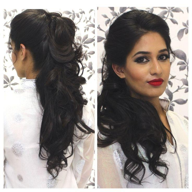 Best 25+ Indian Party Hairstyles Ideas On Pinterest | How Much Is Within Long Hairstyles Indian (View 7 of 15)