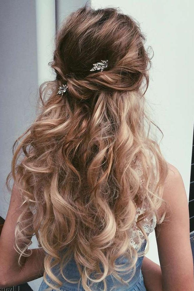 Best 25+ Junior Bridesmaid Hairstyles Ideas On Pinterest | Curly Within Long Hairstyles Dos (View 10 of 15)