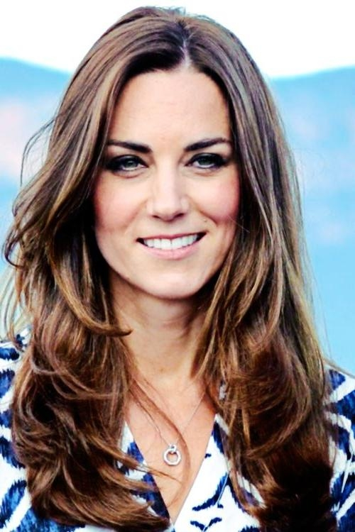 Best 25+ Kate Middleton Hair Ideas On Pinterest | Long Layer Hair With Long Hairstyles Kate Middleton (View 5 of 15)