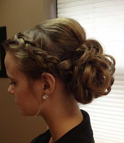 Best 25+ Kids Updo Hairstyles Ideas On Pinterest | Unique Braided Intended For Long Hairstyles Updos (View 9 of 15)