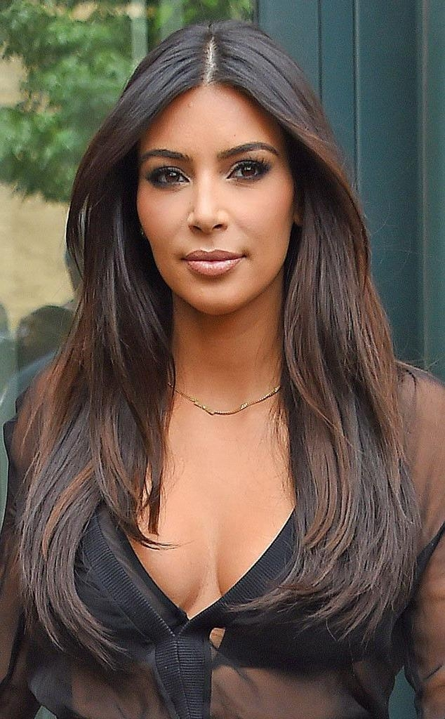 Kim Kardashian Haircut Layers 2012