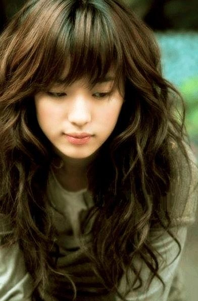 Best 25+ Korean Perm Ideas On Pinterest | Korean Hair Color With Long Permed Hair With Bangs (View 9 of 15)