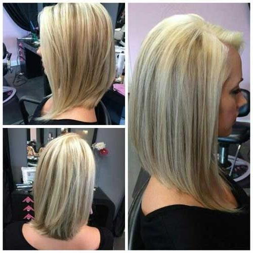 Best 25+ Layered Angled Bobs Ideas On Pinterest | Longer Layered In Medium Long Layered Bob Hairstyles (View 8 of 15)