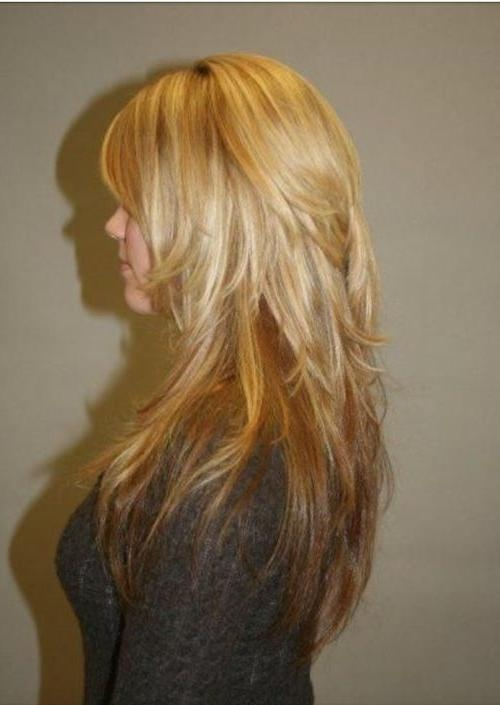 Best 25+ Long Choppy Layers Ideas On Pinterest | Long Choppy Pertaining To Long Hairstyles Choppy Layers (View 6 of 15)
