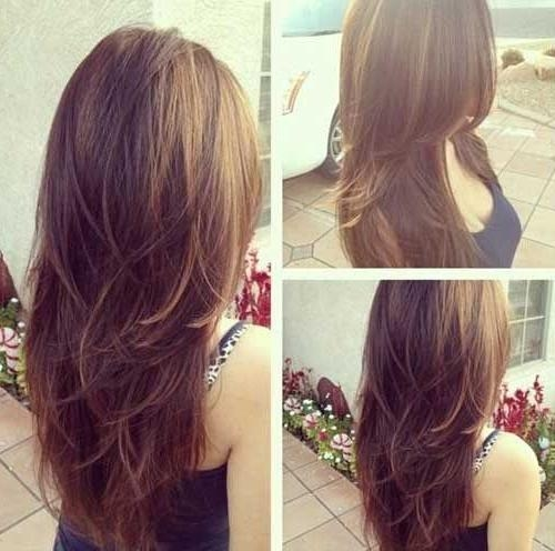 Best 25+ Long Choppy Layers Ideas On Pinterest | Long Choppy With Regard To Long Hairstyles With Lots Of Layers (View 6 of 15)