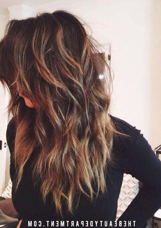 Best 25+ Long Choppy Layers Ideas On Pinterest | Long Choppy With Regard To Long Hairstyles With Lots Of Layers (View 5 of 15)