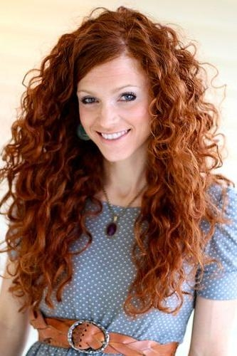 Best 25+ Long Curly Hair Ideas On Pinterest | Natural Curly Hair Inside Long Hairstyles For Curly Hair (View 5 of 15)