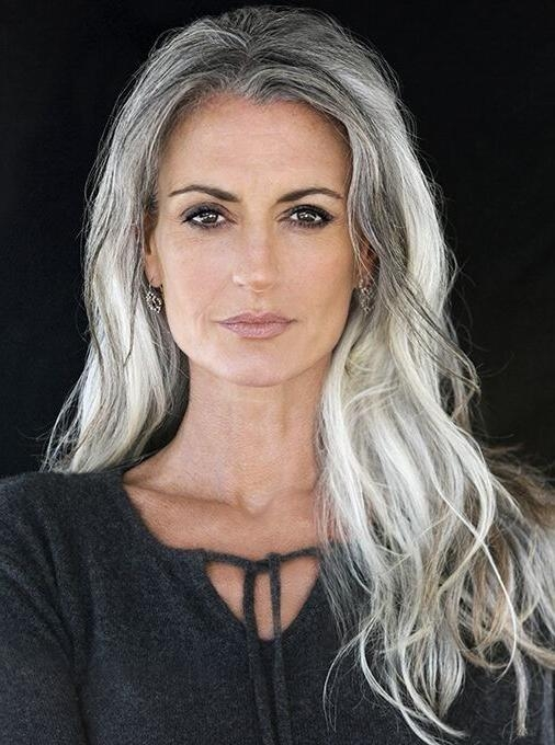 Best 25+ Long Gray Hair Ideas On Pinterest | Long Silver Hair Intended For Long Hairstyles Grey Hair (View 3 of 15)