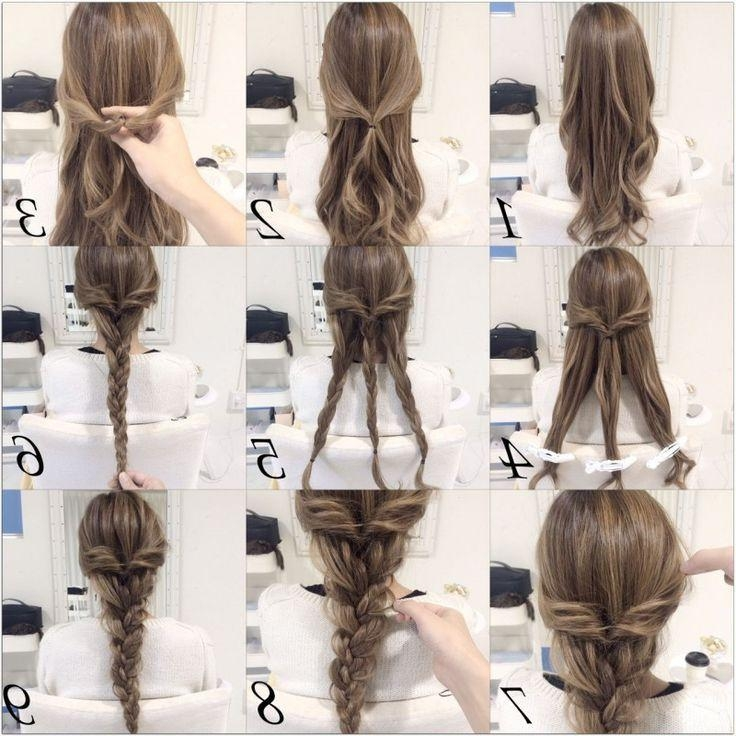 Best 25+ Long Hair Hairstyles Ideas Only On Pinterest | Hair Pertaining To Long Hairstyles Easy And Quick (View 7 of 15)