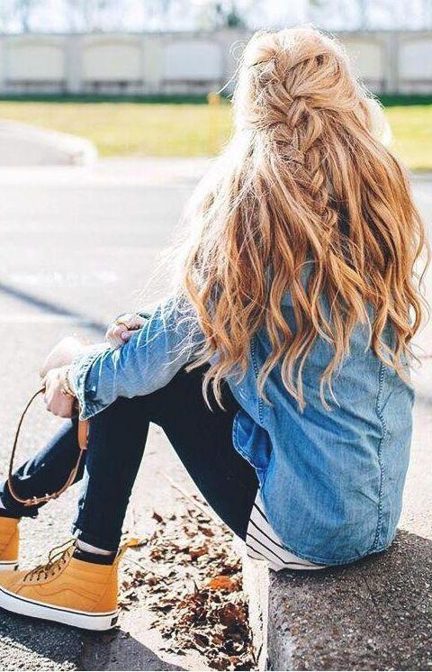 Best 25+ Long Hair Hairstyles Ideas Only On Pinterest | Hair With Long Hairstyles For Jeans (View 9 of 15)