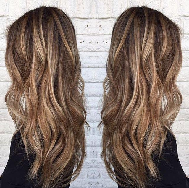 Best 25+ Long Hair Highlights Ideas On Pinterest | Baylage Pertaining To Highlights For Long Hair (View 4 of 15)