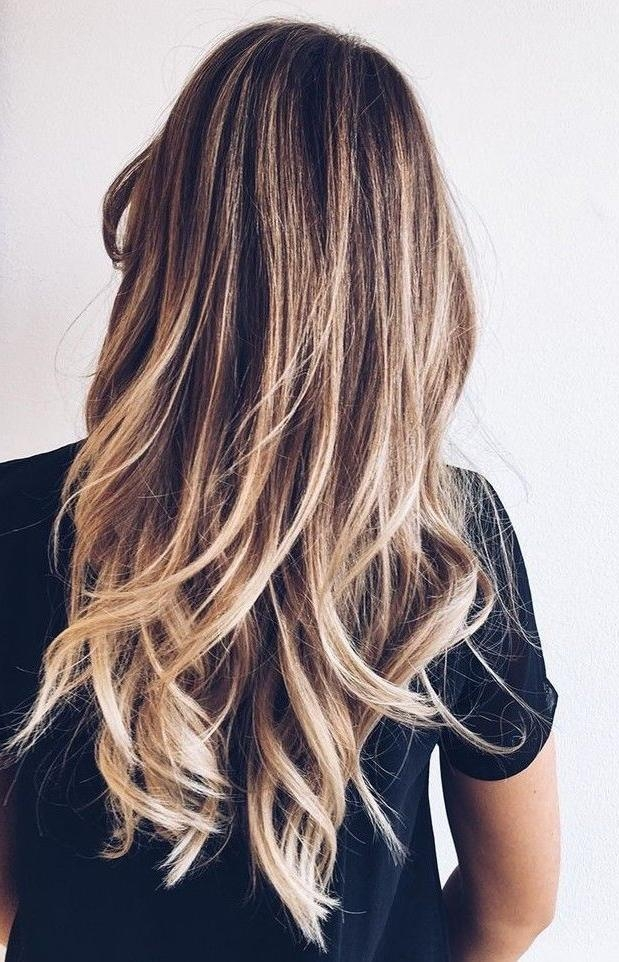 Best 25+ Long Hair Highlights Ideas On Pinterest | Baylage With Long Hairstyles Highlights (View 8 of 15)
