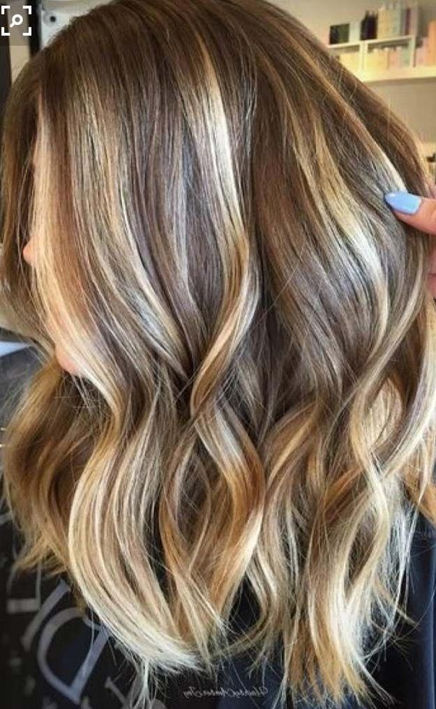 Best 25+ Long Hair Highlights Ideas On Pinterest | Baylage Within Long Hairstyles Highlights (View 10 of 15)